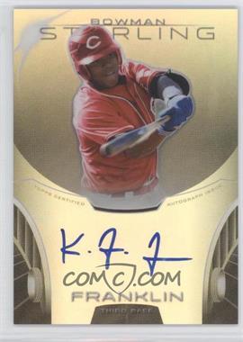 2013 Bowman Sterling - Prospect Certified Autographs - Refractors #BSAP-KF - Kevin Franklin /150