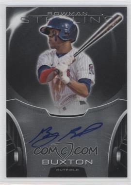 2013 Bowman Sterling - Prospect Certified Autographs #BSAP-BB - Byron Buxton
