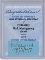 Ty Hensley, Mark Montgomery /35 [REDEMPTION Being Redeemed]