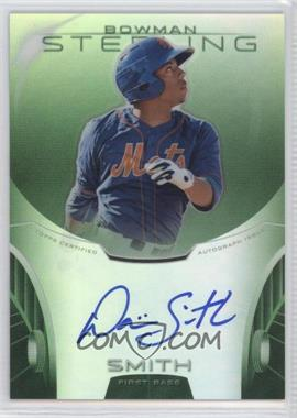 2013 Bowman Sterling Prospect Certified Autographs Green Refractors #BSAP-DS - Dominic Smith /125