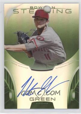2013 Bowman Sterling Prospect Certified Autographs Green Refractors #BSAP-HG - Hunter Green /125