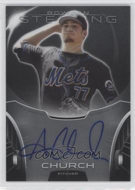 2013 Bowman Sterling Prospect Certified Autographs #BSAP-AC - Andrew Church