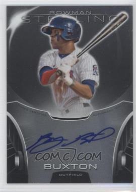 2013 Bowman Sterling Prospect Certified Autographs #BSAP-BB - Byron Buxton