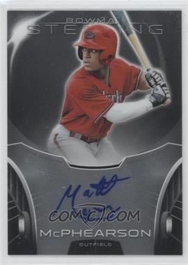2013 Bowman Sterling Prospect Certified Autographs #BSAP-MM - Matt McPhearson