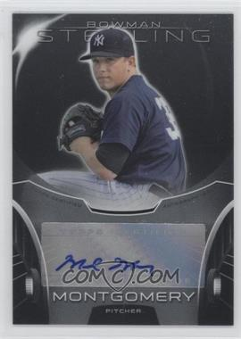 2013 Bowman Sterling Prospect Certified Autographs #BSAP-MMO - Mark Montgomery