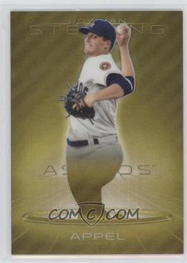 2013 Bowman Sterling Prospects Gold Refractors #BSP-1 - Mark Appel /50