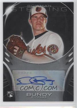 2013 Bowman Sterling Rookie Certified Autographs #BSAR-DB - Dylan Bundy