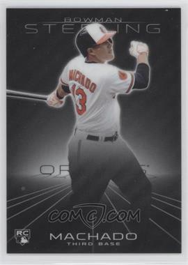 2013 Bowman Sterling #10 - Manny Machado