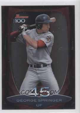 2013 Bowman Top 100 Prospects #BTP-45 - George Springer