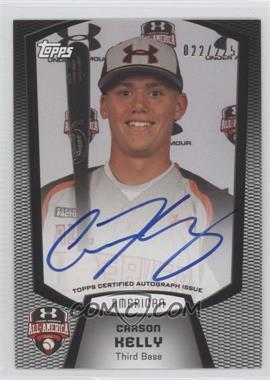 2013 Bowman Under Armour All-American Certified Autographs #UA-CK - Carson Kelly /225