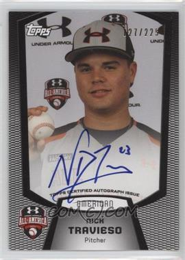 2013 Bowman Under Armour All-American Certified Autographs #UA-NT - Nick Travieso /225