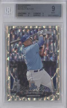 2013 Bowman White Ice #90 - Billy Butler /1 [BGS 9]