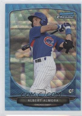 2013 Bowman Wrapper Redemption Prospects Chrome Blue Wave Refractor #BCP206 - Albert Almora