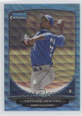 2013 Bowman Wrapper Redemption Prospects Chrome Blue Wave Refractor #BCP60 - Yordano Ventura