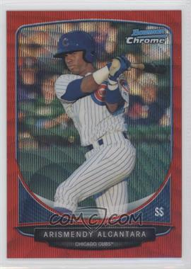 2013 Bowman Wrapper Redemption Prospects Chrome Red Wave Refractor #BCP21 - Arismendy Alcantara /25