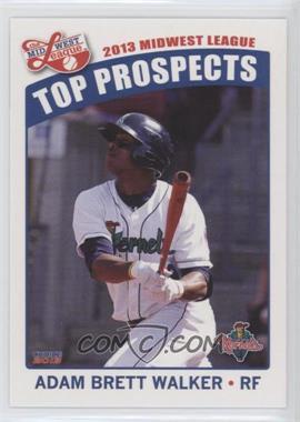 2013 Choice Midwest League Top Prospects - [Base] #08 - Adam Brett Walker