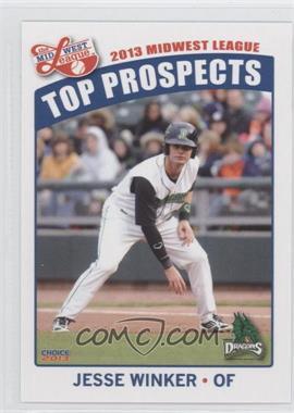 2013 Choice Midwest League Top Prospects - [Base] #12 - Jesse Winker