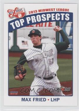 2013 Choice Midwest League Top Prospects - [Base] #14 - Max Fried