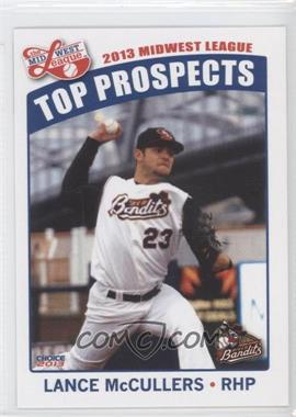 2013 Choice Midwest League Top Prospects - [Base] #26 - Lance McCullers
