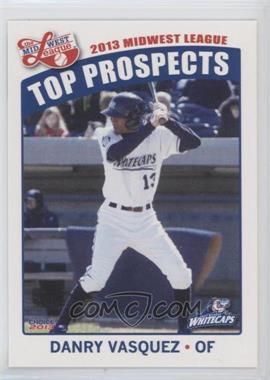 2013 Choice Midwest League Top Prospects - [Base] #30 - Danry Vasquez