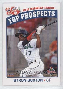 2013 Choice Midwest League Top Prospects #07 - Byron Buxton