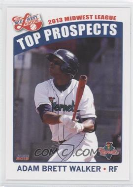 2013 Choice Midwest League Top Prospects #08 - Adam Brett Walker