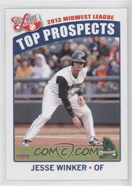 2013 Choice Midwest League Top Prospects #12 - Jesse Winker