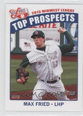 2013 Choice Midwest League Top Prospects #14 - Max Fried
