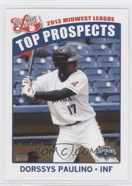 2013 Choice Midwest League Top Prospects #20 - Dorssys Paulino