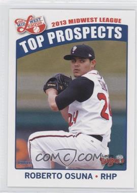 2013 Choice Midwest League Top Prospects #22 - Roberto Osuna
