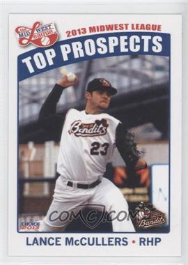 2013 Choice Midwest League Top Prospects #26 - Lance McCullers