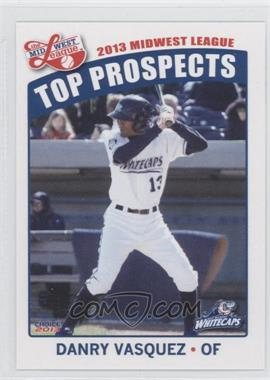 2013 Choice Midwest League Top Prospects #30 - Danny Valencia