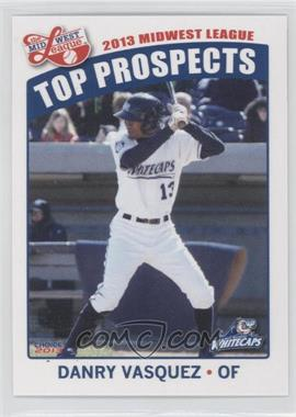 2013 Choice Midwest League Top Prospects #30 - Danry Vasquez