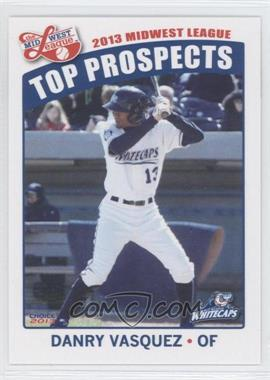 2013 Choice Midwest League Top Prospects #30 - Danry Vasquez