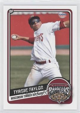 2013 Choice Wisconsin Timber Rattlers - [Base] #24 - Tyrone Taylor