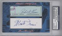 Bobby Thompson, Monte Irvin /50 [PSA/DNA Certified Auto]