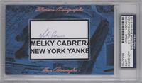 Melky Cabrera /2 [PSA/DNACertifiedAuto]