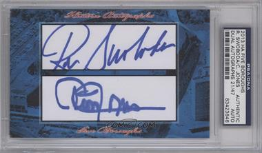 2013 Historic Autographs Five Boroughs Cut Autographs #NoN - Ron Swoboda, Cleon Jones /47 [PSA/DNA Certified Auto]