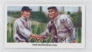 2013 Historic Autographs National Convention - National Convention [Base] - Purple Back #TCHW - 1909 World Series foes (Ty Cobb, Honus Wagner)