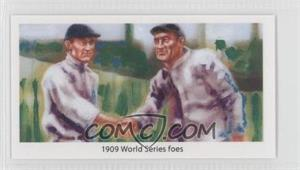 2013 Historic Autographs National Convention National Convention [Base] Red Back #TCHW - 1909 World Series foes (Ty Cobb, Honus Wagner)