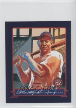 2013 Historic Autographs Originals, 1933 #250 - Buck Leonard