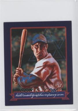 2013 Historic Autographs Originals, 1933 #50 - Hank Greenberg