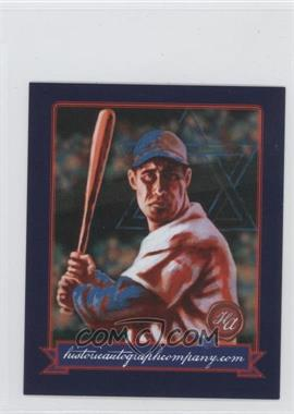 2013 Historic Autographs Originals, 1933 #50 - [Missing]