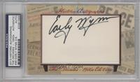 Early Wynn /6 [PSA/DNA Certified Auto]