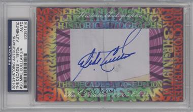 2013 Historic Autographs The Decades - 1970s Edition - Framed Cut Autographs #20 - Mike Cuellar /4 [PSA/DNA Certified Auto]