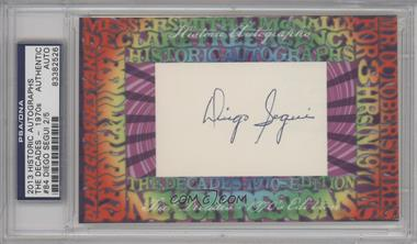 2013 Historic Autographs The Decades - 1970s Edition - Framed Cut Autographs #84 - Diego Segui /5 [PSA/DNACertifiedAuto]