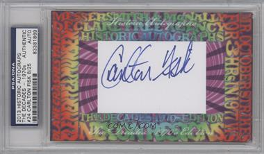 2013 Historic Autographs The Decades - 1970s Edition Framed Cut Autographs #24 - Carlton Fisk /25 [PSA/DNA Certified Auto]