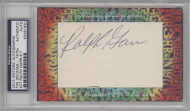 2013 Historic Autographs The Decades - 1970s Edition Framed Cut Autographs #27 - Ralph Garr /7 [PSA/DNA Certified Auto]