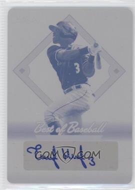 2013 Leaf Best of Baseball Printing Plate Magenta Autographs [Autographed] #1 - Elier Hernandez /1