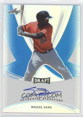 2013 Leaf Metal Draft - [Base] - Blue Prismatic #BA-MS1 - Miguel Sano /25